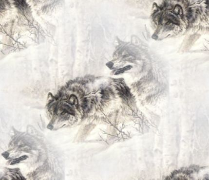 Spirit Wolf Background Fill